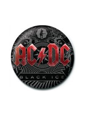 Grindstore Ac/Dc Badge - Black Ice