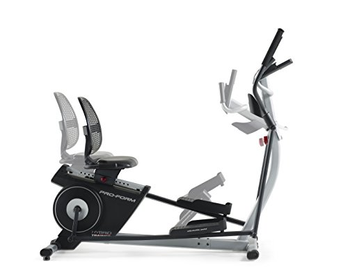 ProForm Hybrid Trainer Recumbent Bike and Rear Drive Elliptical, Compatible with iFIT Personal Training at Home