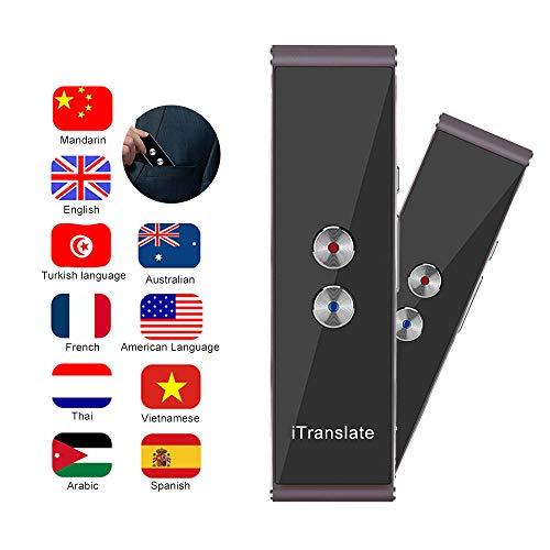 Baiwka Traductor De Voz Inteligente T8, Dispositivo Traductor De Idioma Inteligente Bidireccional En...