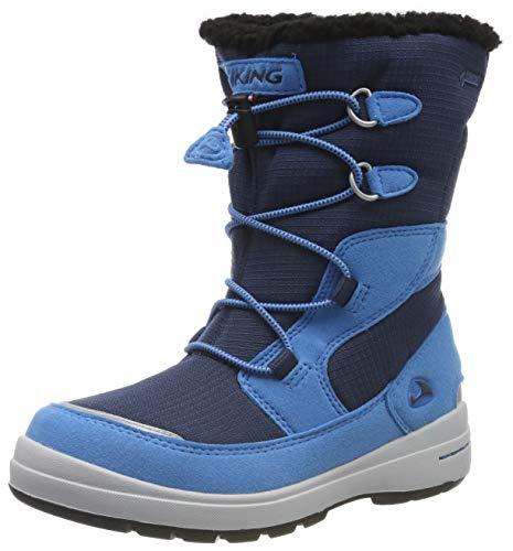 Viking Unisex-Kinder Totak GTX Schneestiefel, Blau (Blue/Navy 3505), 31 EU