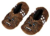Star Wars Chewbacca Chewie Slippers Character Slipper Socks with No-Slip Sole For Women Men (Medium)