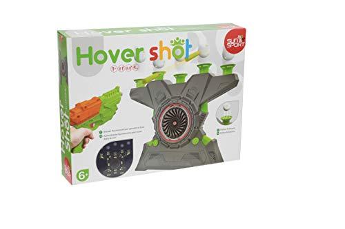 Sun&Sport – Hover Shot – Pistola de juguete para niños – Toma la mira y golpea las bolas flotantes