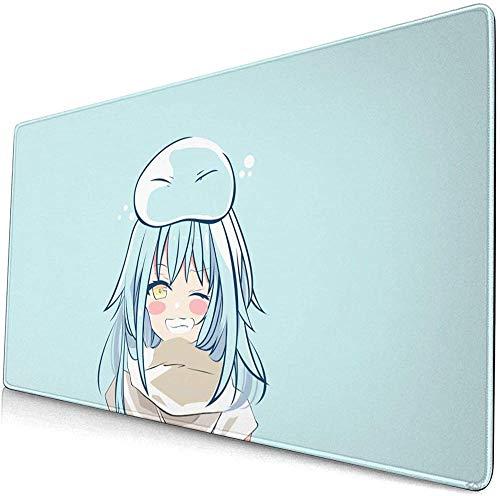 BOIPEEI RGB Mouse Mat, Ten-sei Shit-ara SLI-me Da-TTA Ken Large Gaming Mouse Pads with Non-Slip Computers Laptop Office(30x80cm)