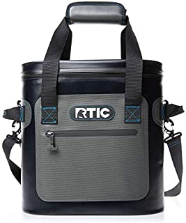 RTIC Soft Pack 20 Can Cooler with Flip Top (Blue & Grey)