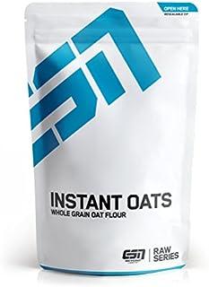 ESN Instant Oats, hochwertiges Hafervollkornmehl, gemahlene Haferflocken, für leckeren Porridge & als Zusatz zu Shakes, ungesüßt, 4 kg Vorratsbeutel