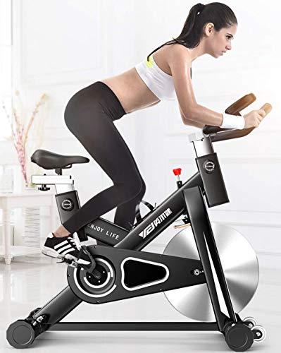 SXTYRL Indoor Spinning Ciclismo Bike, Belt Drive Indoor Bicicletas de Ejercicio, Pantalla LCD Estacionaria para el Hogar Entrenamiento Cardio Bicicleta Entrenamiento