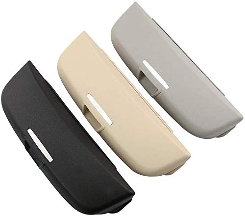 WXJWPZ - Funda para gafas de sol de coche para Toyota Land Cruiser Prado 2700 4000, caja de almacenamiento de gafas de coche, organizador de coches, funda para gafas de coche, 2020.10.27 (color: gris)