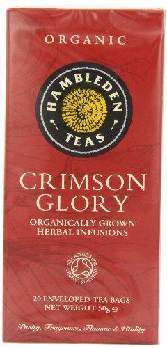 Hambleden Teas Organic Crimson Glory Tea 20 Teabags (Pack of 6, Total 120 Teabags)