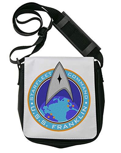Star Trek Starfleet Command U.S.S. Franklin Bolso Bandolera Riñonera De Hombro Unisex Shoulder Bag