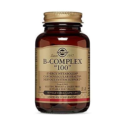 Solgar Vitamin B-Complex Vegetable Capsules, Pack of 50