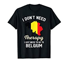 This Belgian map flag love, Belgium DNA patriot patriotic roots clothes perfect gift for Belgian people. Great birthday present for vocation made born in Belgium country. Awesome for travel visit Belgium. Belgium Traveling Gift Clothing Gifts for gra...