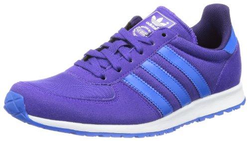 Adidas Adistar Racer W, Zapatillas de Estar por casa para Mujer, Blast Purple F/Eggplant/Bluebird 13, 36 EU