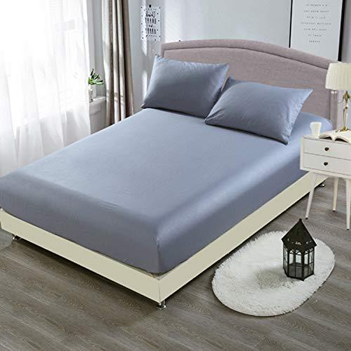 haiba Comfy Night - Juego de sábanas de franela para cama doble, sábana encimera, sábana encimera, 90 x 190 cm + 15 cm