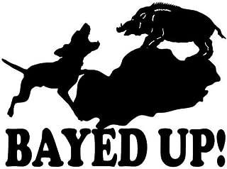 bayed up sticker