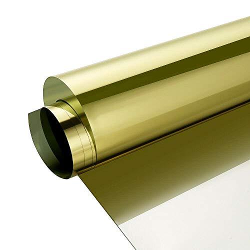 Lengte 2/3/5/7 m Eenrichtingsspiegel Raam Privacyfolie UV-blokkering Warmteregeling Reflecterende glazen tint voor thuiskeuken Badkamer, 0,6 x 2 m