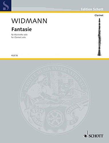 Fantasie clarinette: For Solo Clarinet (Klarinetten-Bibliothek)
