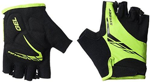 Ziener Erwachsene CENIZ Fahrrad-/Mountainbike-/Radsport-Handschuhe | Kurzfinger - Atmungsaktiv/dämpfend, Lime Green, 11