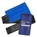 Healifty Paquete de gel frío y caliente, reutilizable, para lesiones en hombros, rodillas, dolor de espalda, frío y calor contra debilitaciones.