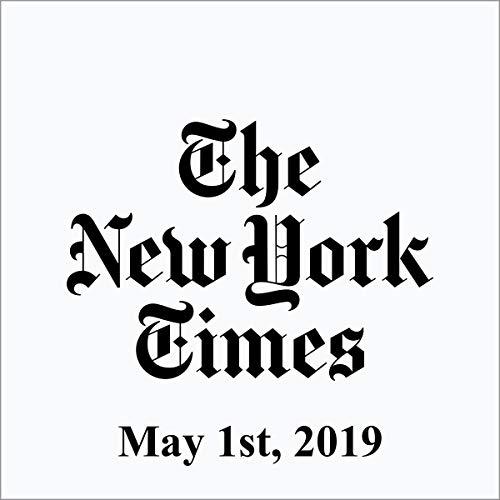 May 1, 2019 audiobook cover art