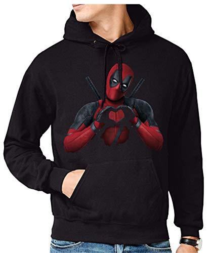 Sudadera de Hombre Deadpool Comic Marvel 014