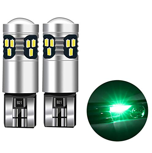 Auto-onderdelenlampen, LED-lampen, hoge warmteafvoer, lage prestaties, sterke voertuiglamp, 12 V, 5 W 12V5W Groen