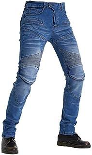 膝用プロテクター 装備 2色 サイズ選択 S~3XL デニム オールシーズン 防風耐磨 バイクパンツ