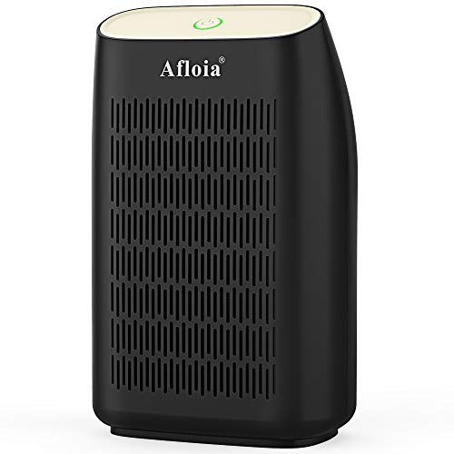 Afloia Electric Air Dehumidifier, 700ml Compact Mini Portable Deshumidificador, (215 sq ft), with Auto Shut Off for Basements, Bathroom, Bedroom, Dorm Room, Closet, Kitchen and RV