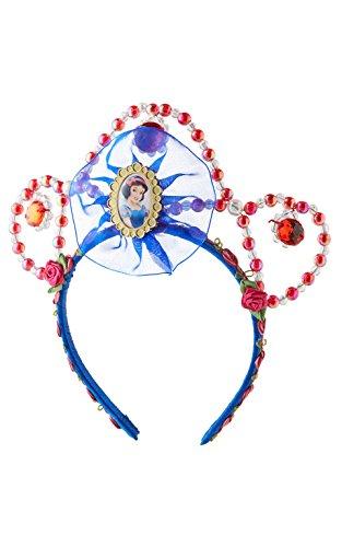 Princesas Disney - Tiara de Blancanieves, color rojo, Talla única (Rubie's...