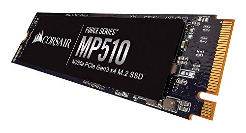Corsair Force MP510 240 GB NVMe PCIe Gen3 x4 M.2-SSD (bis zu 3100 MB/s)