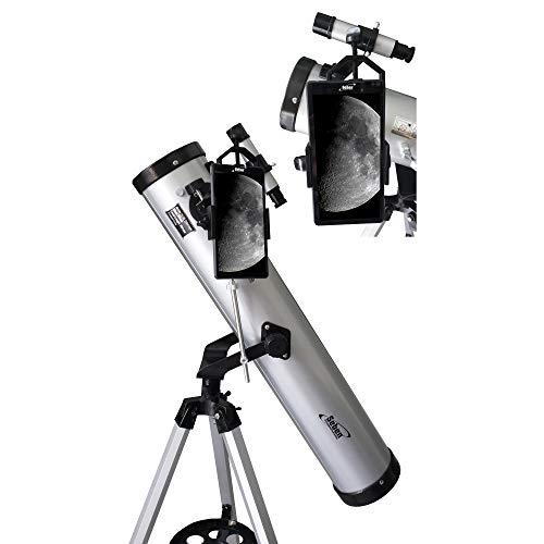 Seben Telescopio Reflector 700-76 + Smartphone Adaptador DKA5