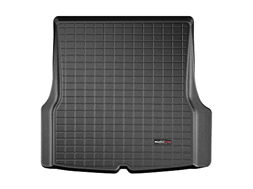 WeatherTech Custom Fit Cargo Liner Trunk Mat for Tesla Model S - 40933 (Black)