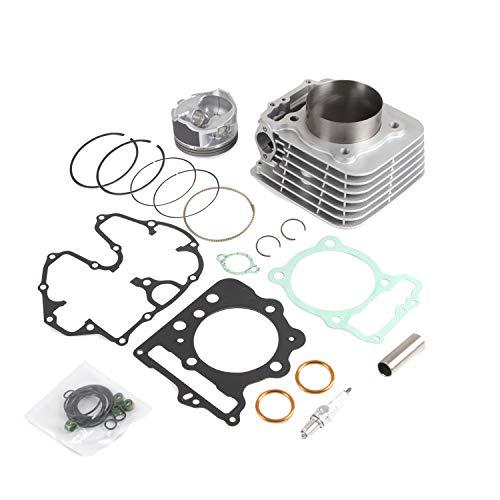 Replace 12100-HN1-A70 89mm 440cc Cylinder Piston Kit Compatible with 1999-2014 TRX400X TRX400EX Sportrax XR400R