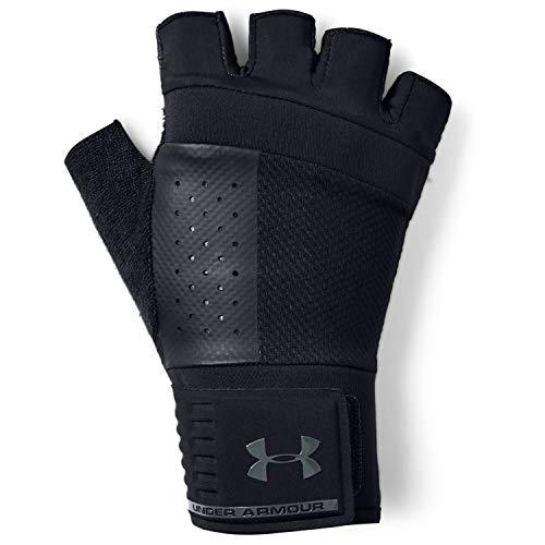 Under Armour Men's Weightlifting Gloves , Black (001)/Black , Medium