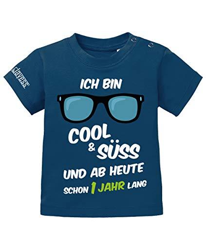 günstig Jesse Baby T-Shirt für Jungen 1. Geburtstag – Ich bin cool und süß, und für ein Jahr ab heute … Vergleich im Deutschland