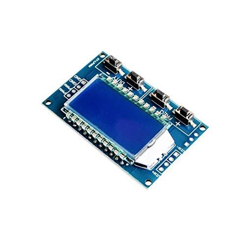 Componentes de la computadora Accesorios eléctrico Generador de señal 1HZ-150KHZ PWM Módulo de tablero Módulo ajustable del ciclo de trabajo de la frecuencia del pulso LCD Pantalla 3. 3V-30V 1 HZ - 15