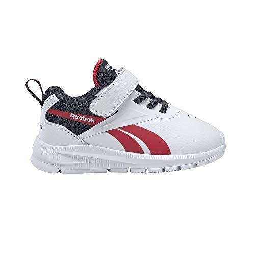 Reebok Rush Runner 3.0 Syn, Zapatillas de Running, Blanco/VECNAV/VECRED, 36 EU
