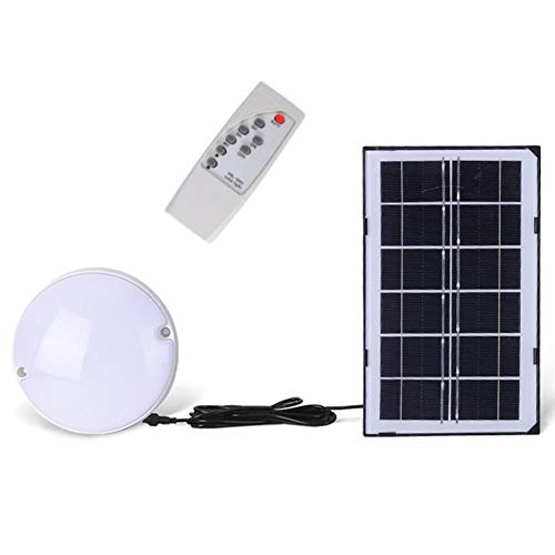 AdoDecor Hallway Lamp Solar Powered Adjustable Indoor Lighting Balcony 18w Home Ceiling Light Porch Remote Control Dimmable