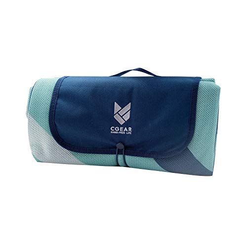 CGEAR Sandlite – Patented Sand-Free Beach Mat – Multi Use Outdoor Camping Mat, Picnic Blanket,...