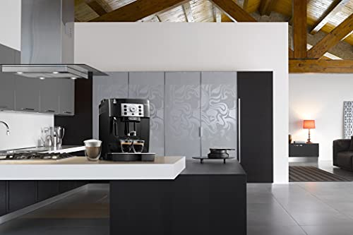 De'Longhi Magnifica S, Automatic Bean to Cup Coffee Machine, Espresso and Cappuccino Maker, ECAM22.110.B, Black [Amazon Exclusive]