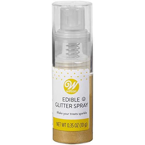 Wilton Edible Silver Glitter Spray, 0.35 oz.