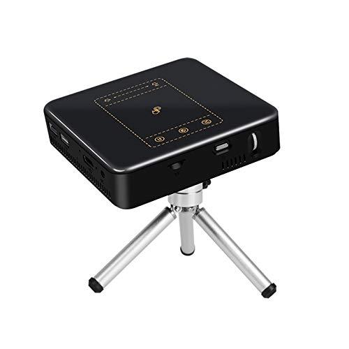 AWJK Proyector WiFi, Proyector Portátil, 4500 Lúmenes, Soporta 1080p Full HD, Cine en Casa 300' Duplicar Pantalla para Android/iPhone Smartphone iPad,HDMI/USB/VGA/AV/SD