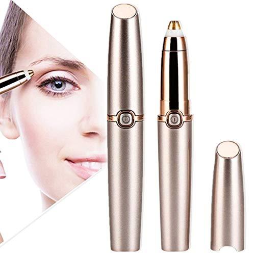 joyliveCY Augenbrauen Trimmer, Augenbrauen Rasier Elektrische Augenbrauen Entferner Schmerzloses Augenbrauentrimmer Frauen Gesichts Trimmer für die punktgenaue Haarentfernung