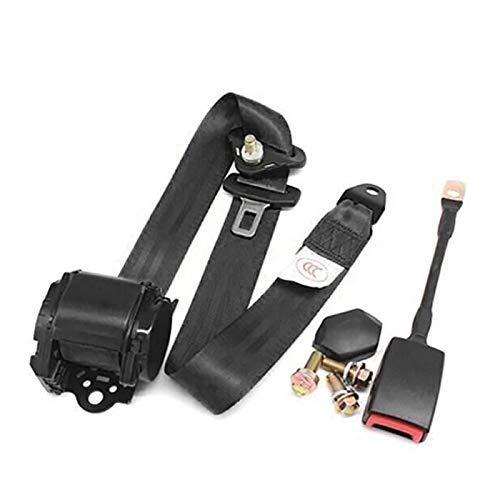 SayHia - Cinturón de Seguridad Universal de Tres Puntos Ajustable con Bloqueo...