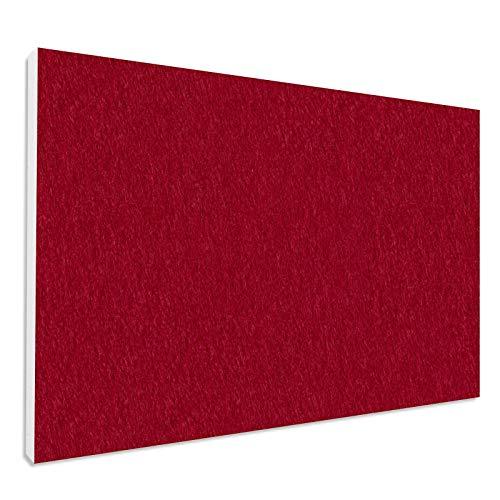 Basotect ® G+ Schallabsorber - Rechteck 82,5 x 55 cm Akustik Element Schalldämmung, Farbe: BORDEAUX