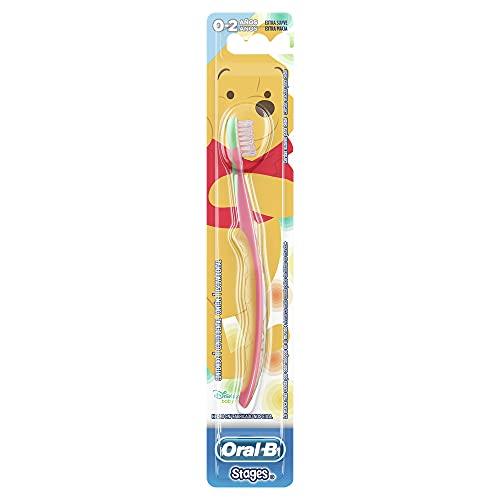 Oral-B Escova Dental Pro-Saúde Winnie the Pooh, Stages 1, Cores Sortidos
