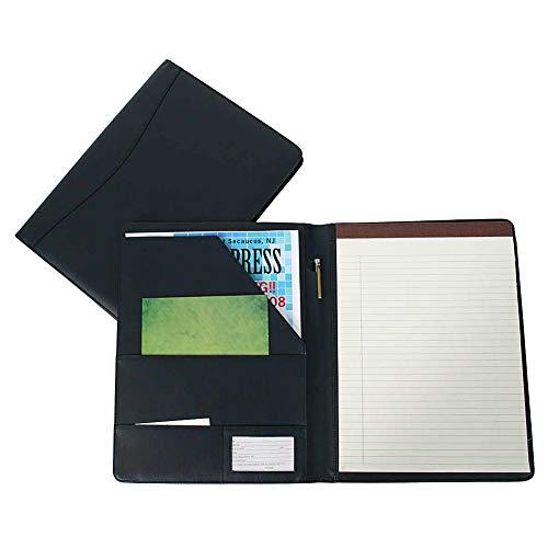 Royce Leather Executive Writing Portfolio Document Organizer, Gift Wrapped (Matte Blue)