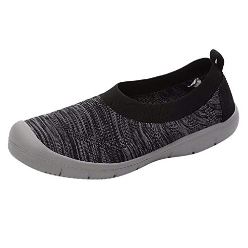 KERULA Sneakers Damen, Classic Fashion Walking Slip on Pumps Mode LäSsig Flexible Socken Sport Elastische|Damenschuhe|Turnschuhe|Halbschuhe|Schuhe