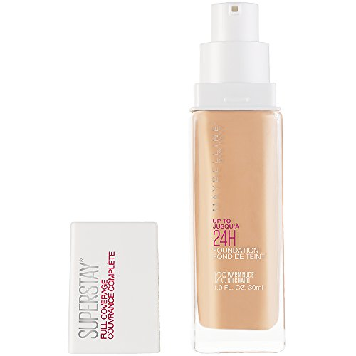 Maybelline Super Stay Full Coverage Liquid Foundation Makeup, Warm...