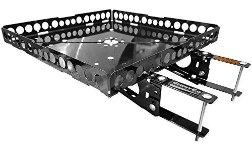 Mount-n-Lock GennyGo RevX RV Bumper-Mounted Generator & Cargo Carrier Tray Kit (Steel)