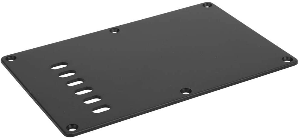 6-Hole Electric Guitar Backplate,Guitar Cavity Cover Backplate Compatible with ST SQ Style Electric Guitar